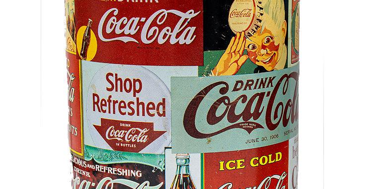 Coca Cola Coke Signs Tin