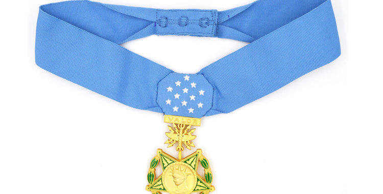 Museum quality US Airforce Medal of Honor Replica.