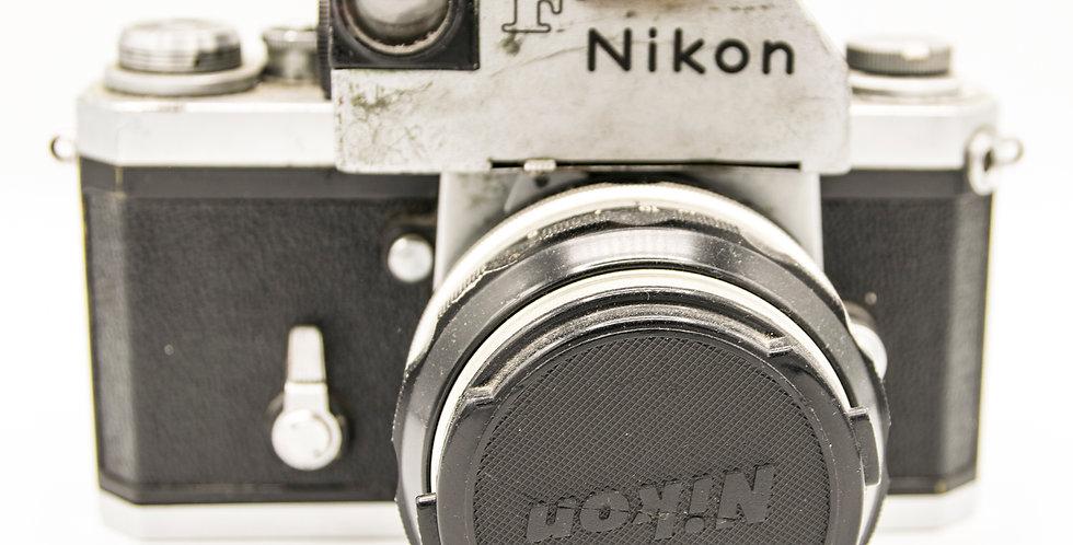 Nikon F Camera and Lens