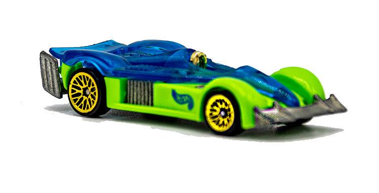 Hot Wheels Loose Green w/Blue Window Racer