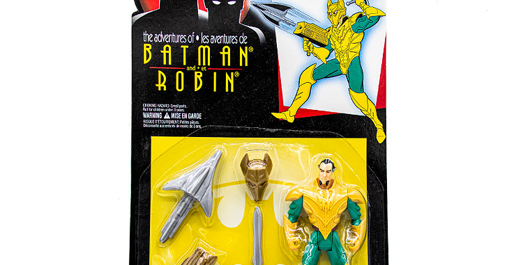 Batman and Robin Ra's Al Ghul Action Figure