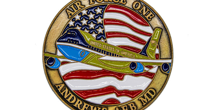 Airforce One Challenge coin
