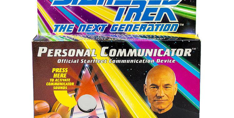 Star Trek Next Gen Communicator Toy Prop