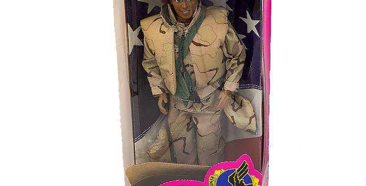 Barbie Army Series - Ken Afro-American