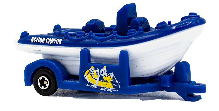Matchbox Boat and Trailer Loose