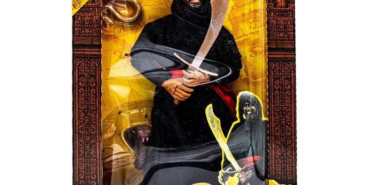 Sci-Fi Indiana Jones 12 Inch Action Cairo Swordsman
