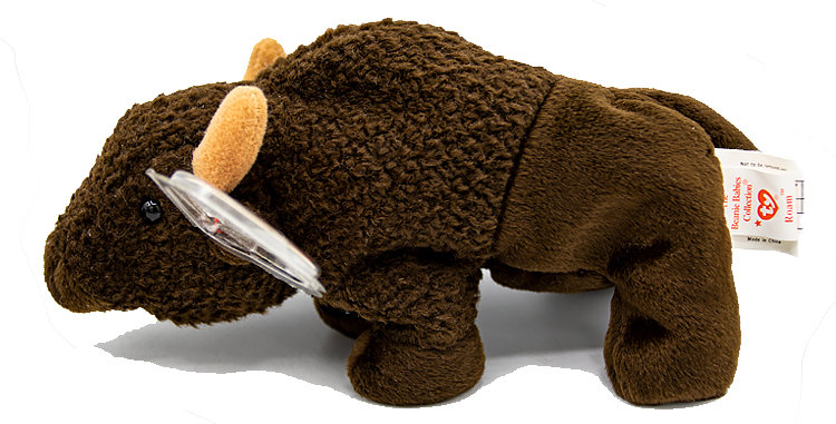 Beanie Babies Roam the Buffalo Beanie Baby