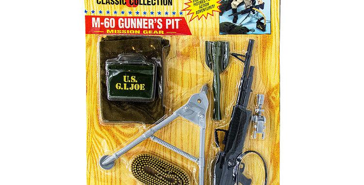 GI Joe Modern Classic Collection M60 Gunners Pit