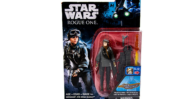 Sargeant Jyn Erso Rouge One