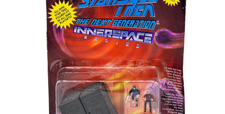 Star Trek Inner Space Borg Cube Playmates Toy