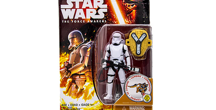 3.75 inch First Order FlameTrooper The Force Awakens