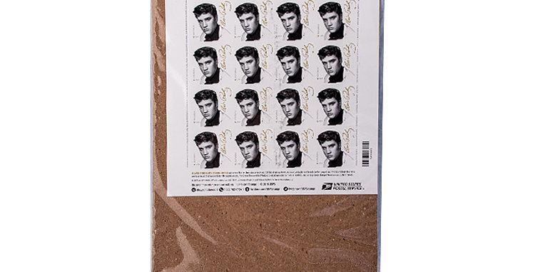 Sheet of 16 Elvis Presley Stamps  (2015 Release)