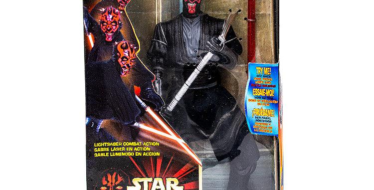 Star Wars  12 inch Episode 1 Electronic Talking Darth Maul