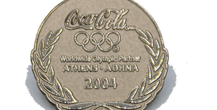 Coca Cola Pin Athens Olympics 2004
