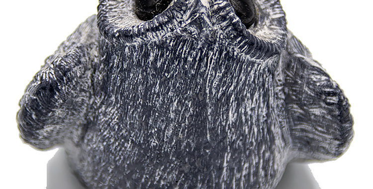 Indigenous Art Inuit Art Owl Made by Wolf