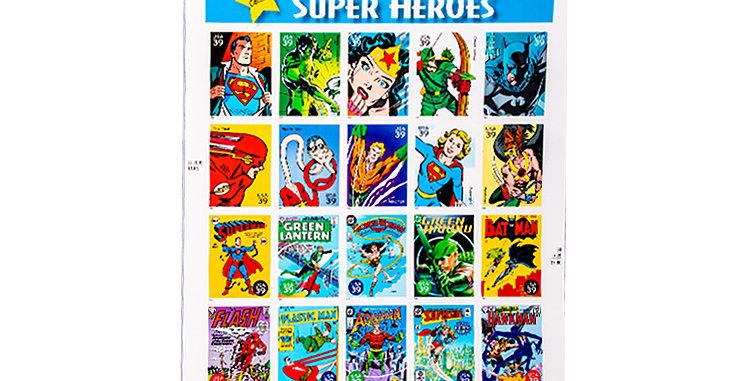 Stamp USPS  DC Super Heros