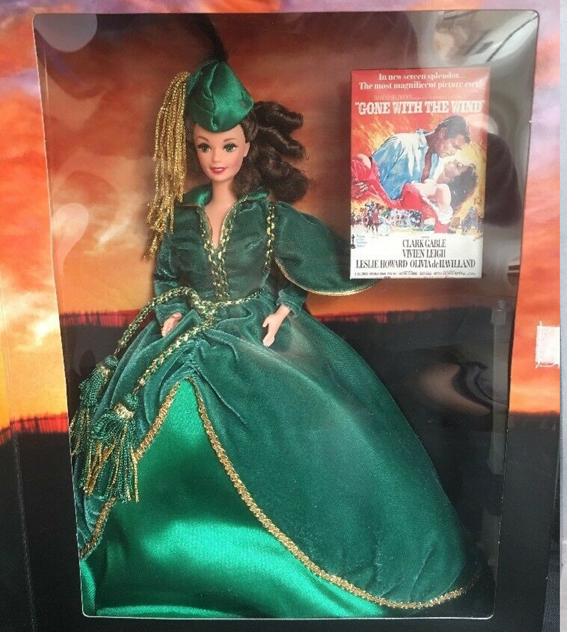 Barbie Gone with the Wind Premiere Perfo