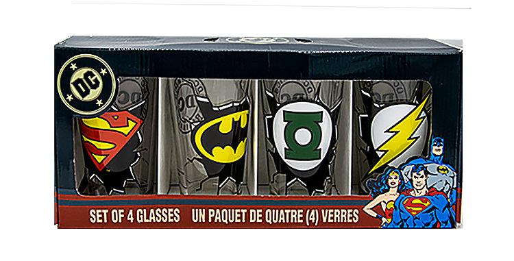 Batman DC Comics Super Hero Tumblers