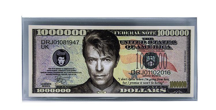 David Bowie Million Dollar Bill