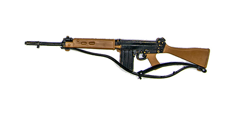GI Joe Vintage  Action Man FN Rifle