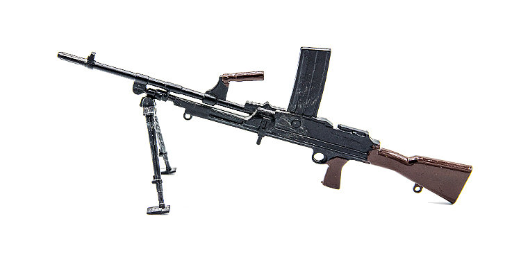 GI Joe Vintage Action man Bren Gun