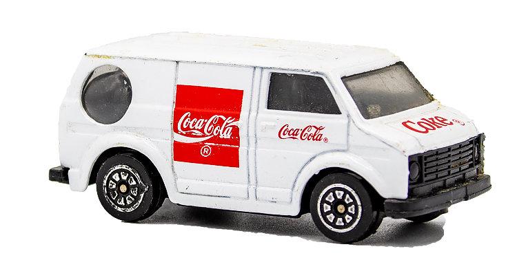 Coca Cola Coke Van small
