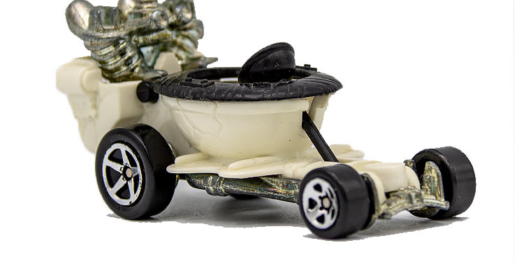Hot Wheels Toilet Wagon Loose