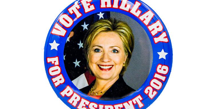 Hilliary Clinton 2016 Campaign Button