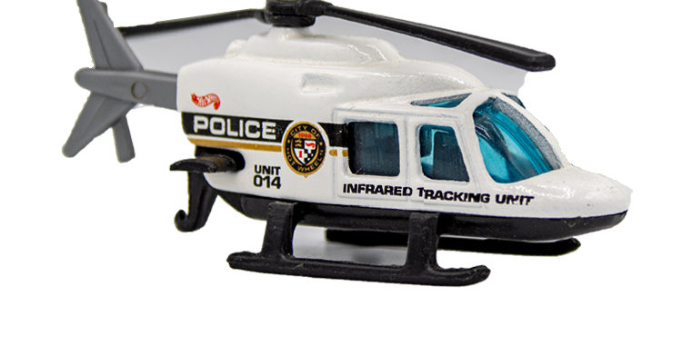 Hot Wheels Helicopter Loose