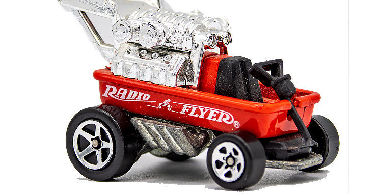 Hot Wheels Radio Flyer Wagon Loose