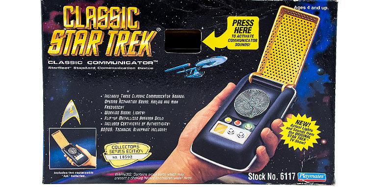 Star Trek Classic Communicator Prop Toy