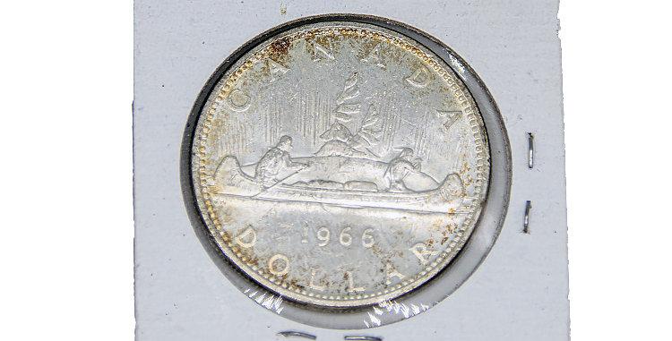 Coin Canada1966 Silver Dollar