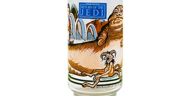 Star Wars Vintage Drinking  Glass Buger King Return of the Jedi