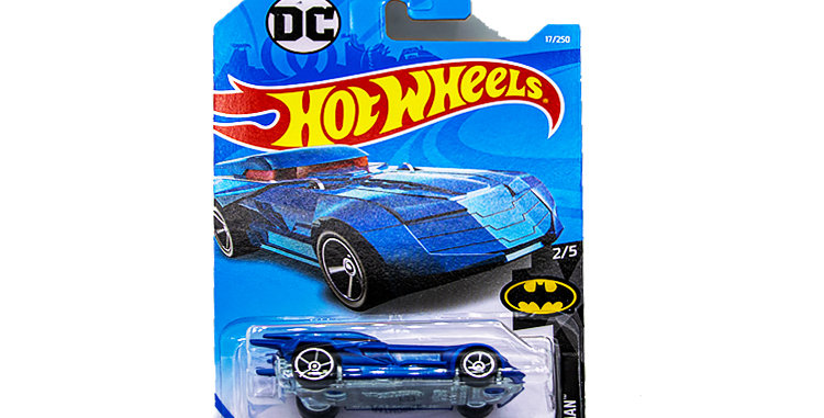 Batmobile Blue 2 out of 5