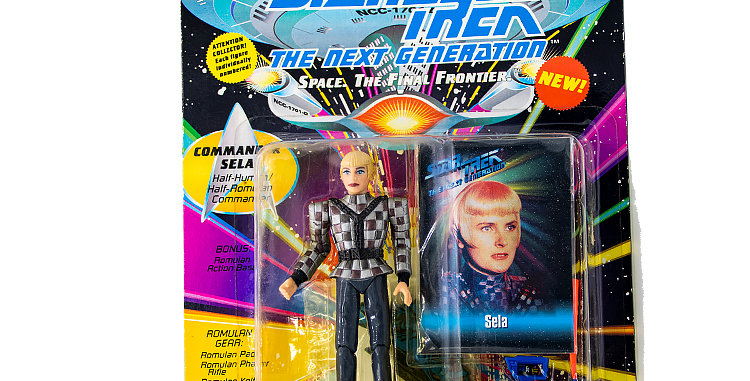 Star Trek Action Figure Sela Playmates Toy