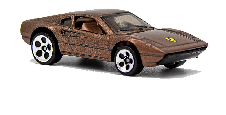 Hot Wheels Loose Logo Copper Ferrari