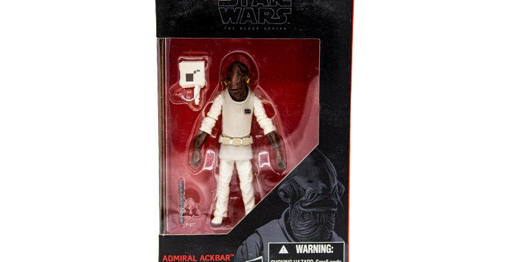 Star Wars 3.75 inch Admiral Akbar The Black Series