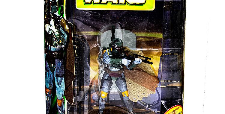 Star Wars 3.75 Inch 300th Boba Fett w/Rocket Firing Backpack