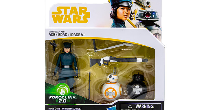 3.75 Inch Rose First Order Disguise, BB8, BB-9E Force Link 2