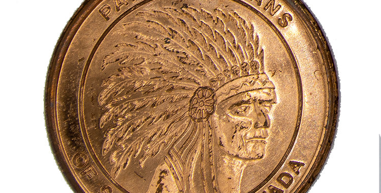 Paiute Indians Southern Neveda Coin