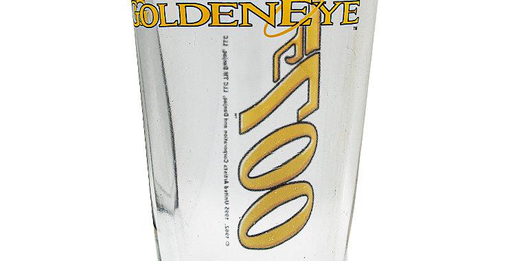 Glassware Glasse James Bond 007 Goldeneye