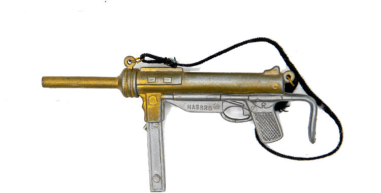 GI Joe Vintage Grease Gun