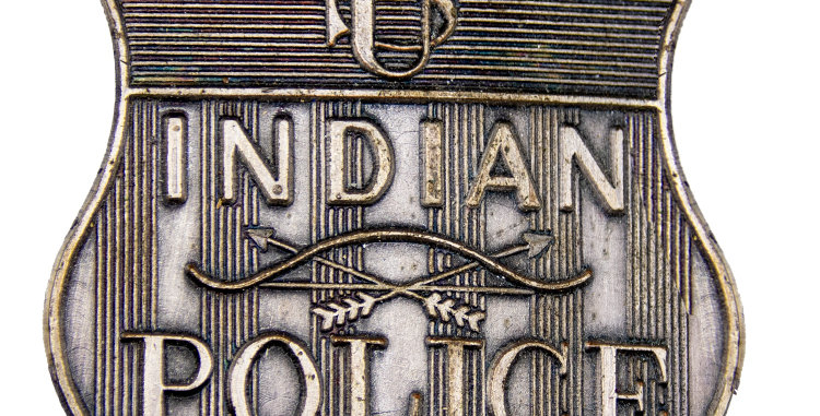 Militaria Badge Old West Replica US Indian Police