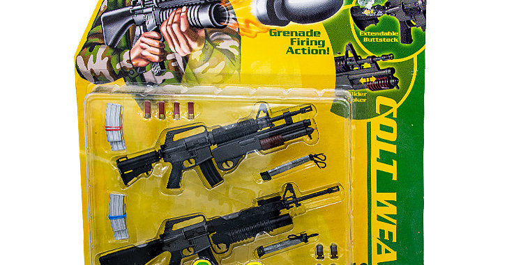 Armed Forces 12 Inch Colt Weapons
