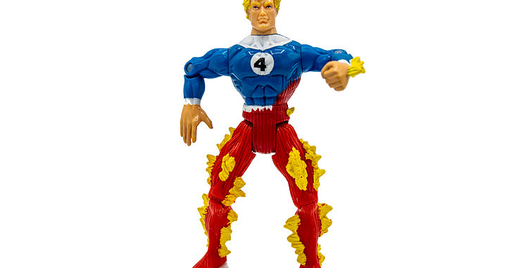 Flame from Fantastic 4