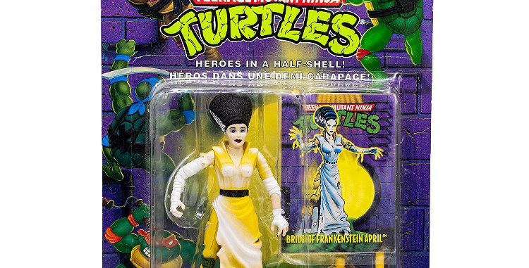 Sci-Fi Teenage Mutant Turtles Bride of Frankenstein