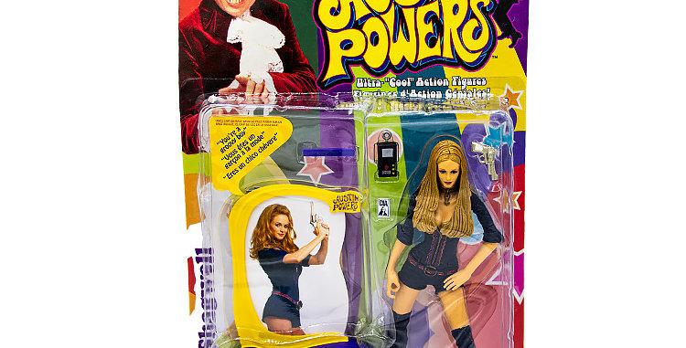 Austin Powers Felcity Shagwell Action Figure