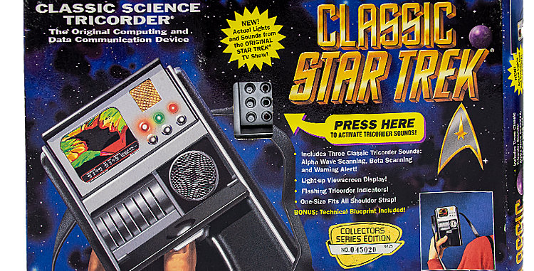 Star Trek Classic Tricorder Toy Prop
