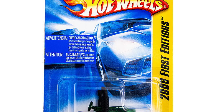 Hot Wheels 2008 First Editions Dragtor in Green