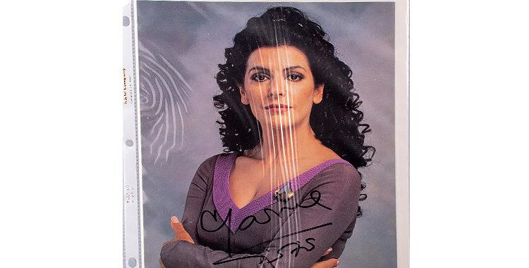 Autograph of Marina Sirtis who played Deanna Troi